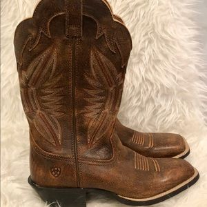 Women's Ariat Country Boots Wide Calf